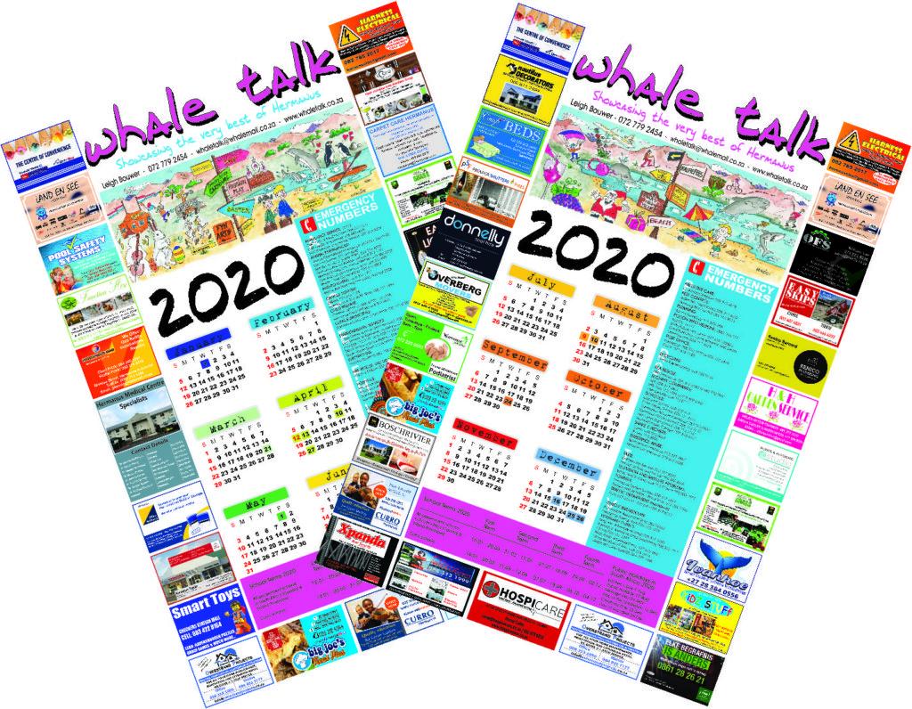 2020 CALENDAR WHALE TALK MAGAZINE